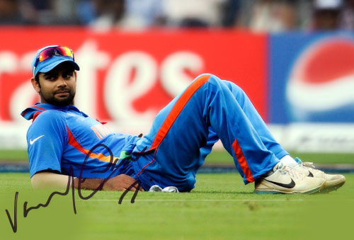 Free Information and News about Indian Cricketers Autographs - Autographs of Indian Cricketers